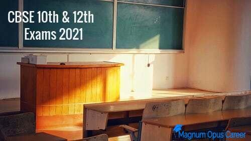 CBSE 10th & 12th Exams 2021